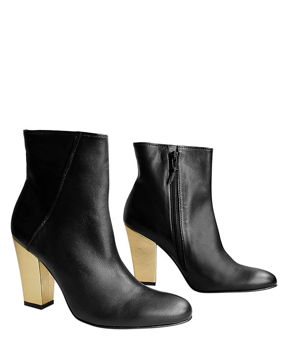 Zapato Botín FB-9156 Color Negro