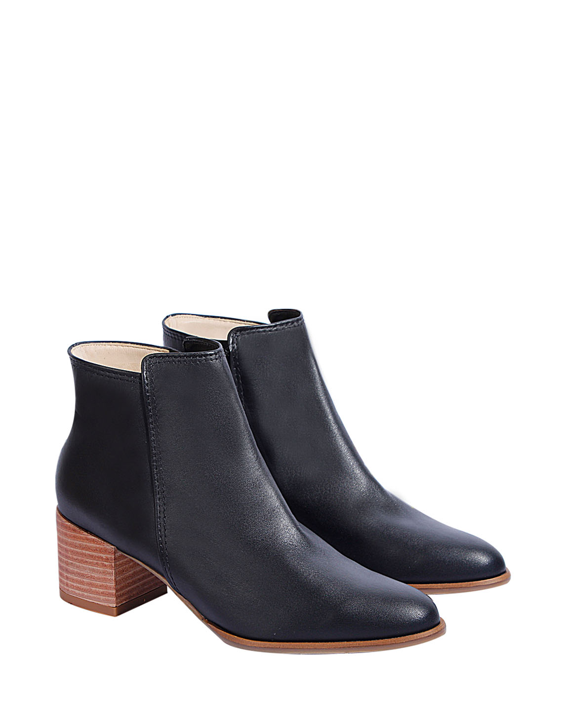 Zapato Botín FB-9373 Color Negro