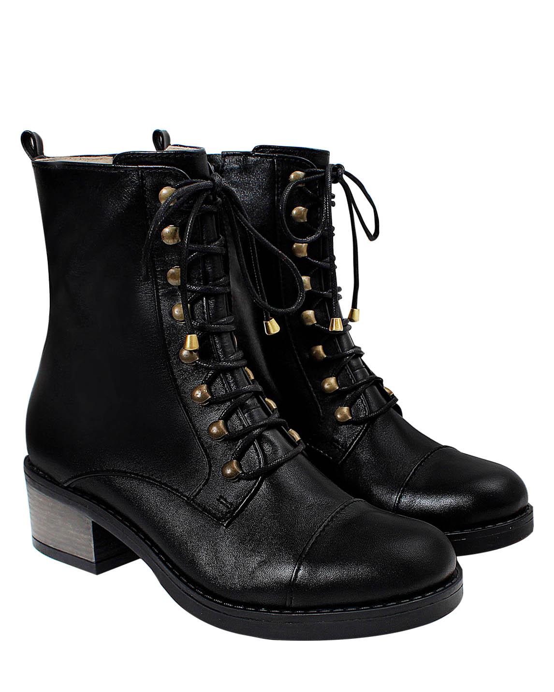 Zapato Botín FB- 9654 Color Negro