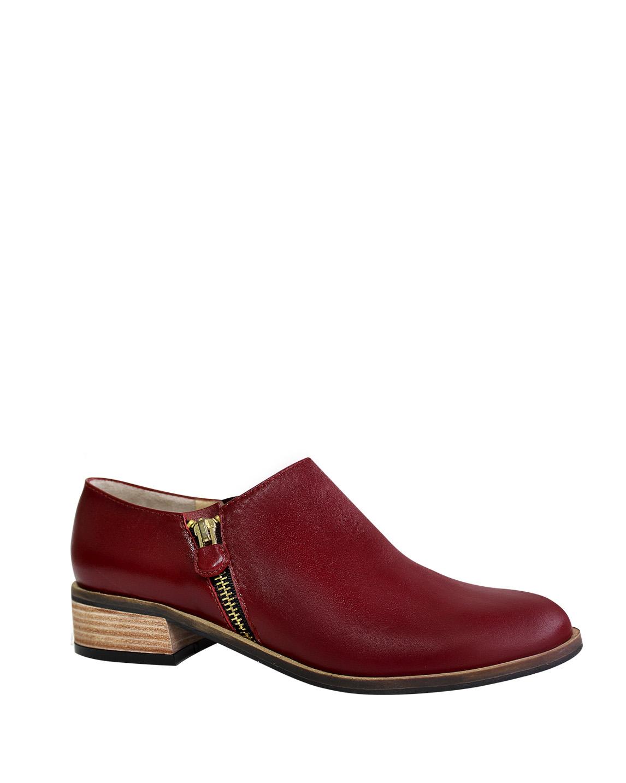 Zapato Derby FD-9268 Color Rojo