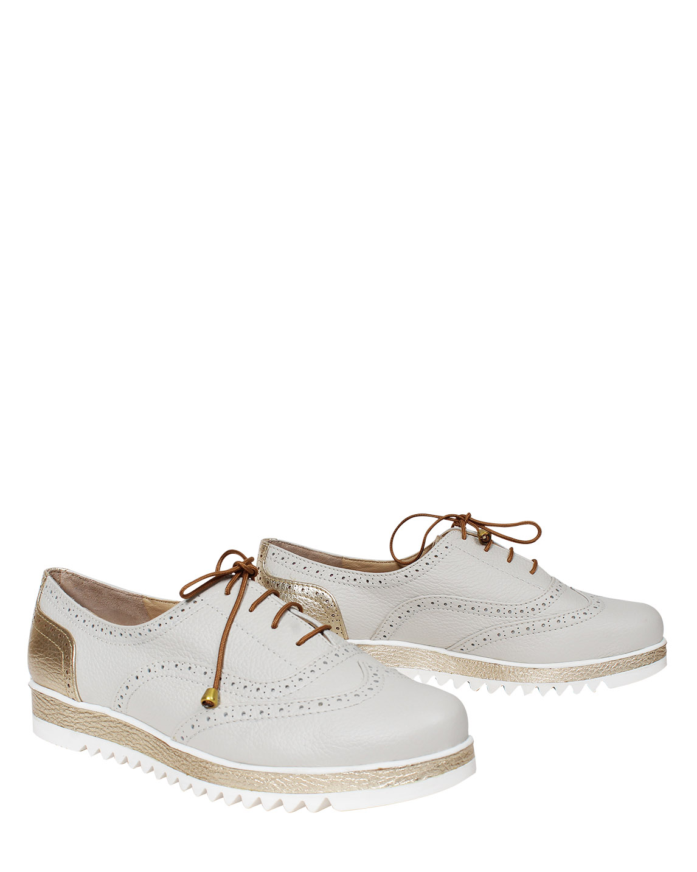 Zapato Derby FD-9288 Color Blanco