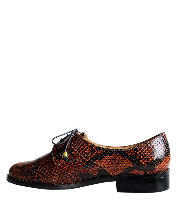 Zapato Derby FD-9398 Color Natural