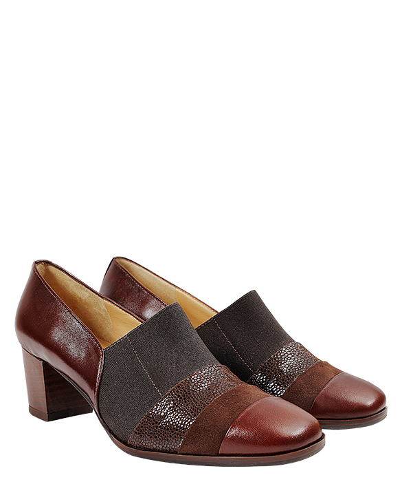 Zapato Derby FD-9675 Color Marron