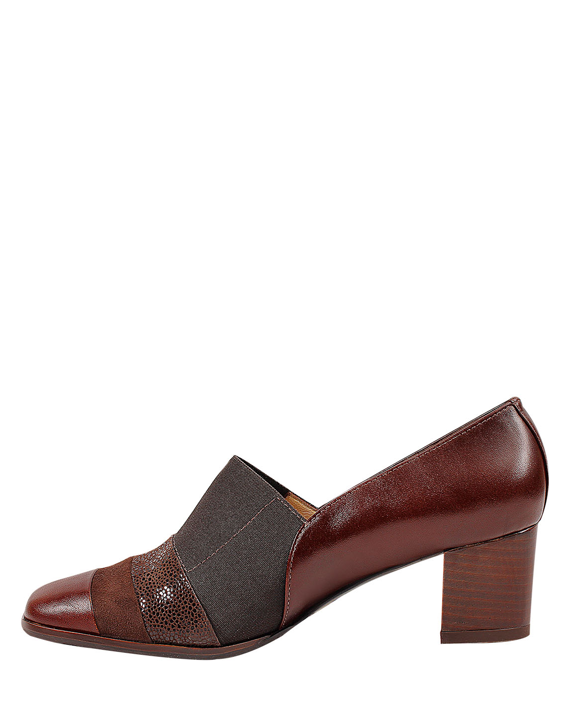 Zapato Derby FD-9675 Color Marron
