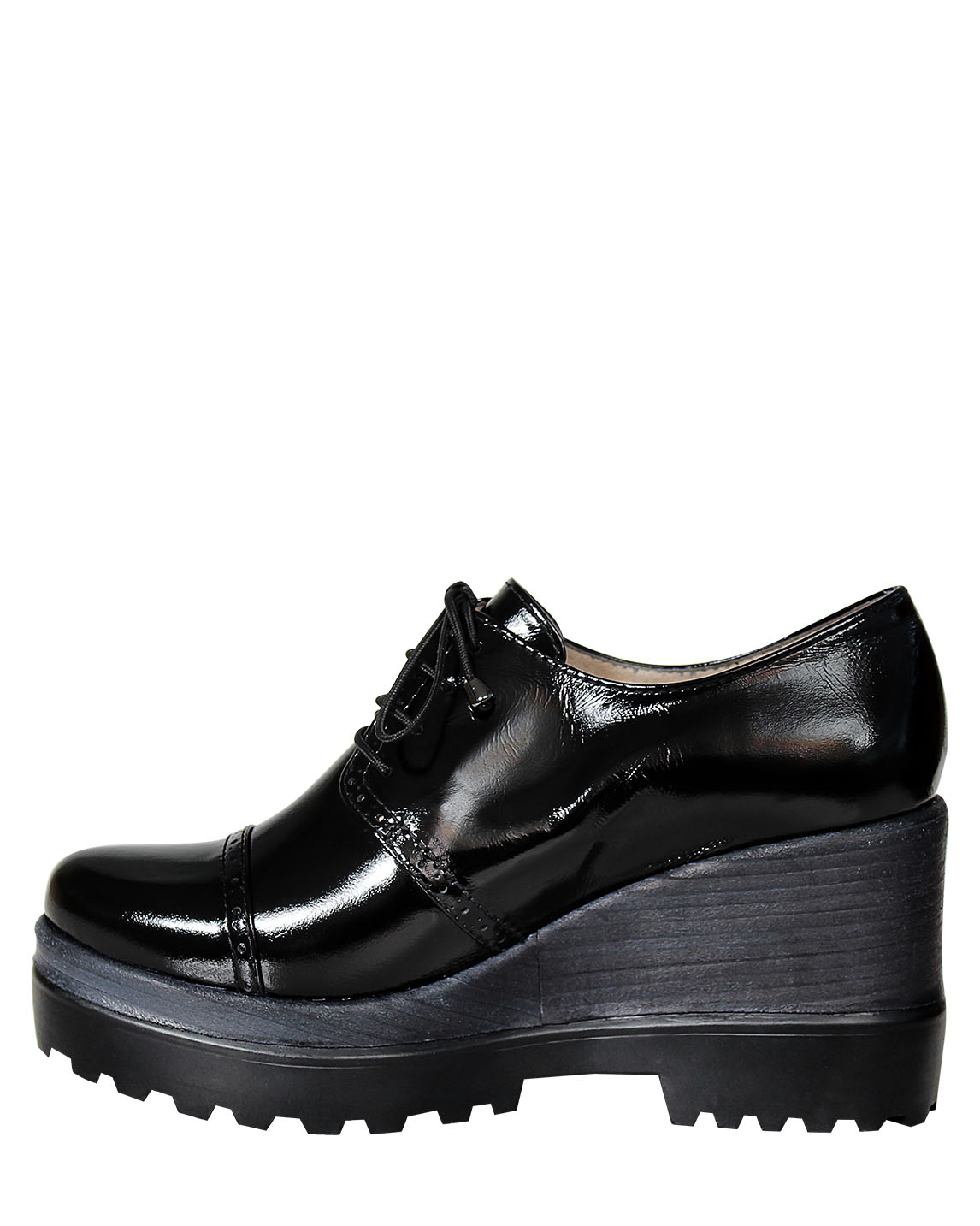 Zapato Derby FD-9681 Color Negro
