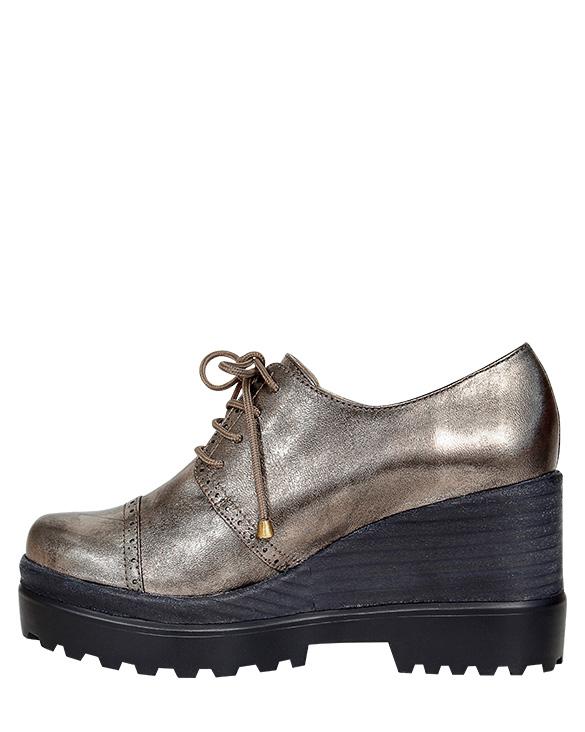 Zapato Derby FD-9681 Color Piuter
