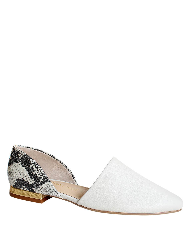 Zapato Flat FPT-8792 Color Blanco