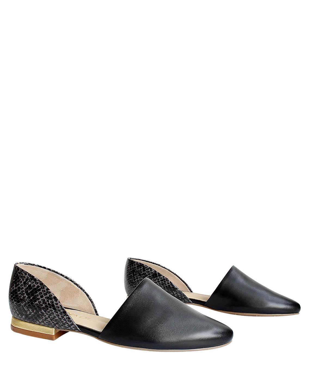 Zapato Flat FPT-8792 Color Negro