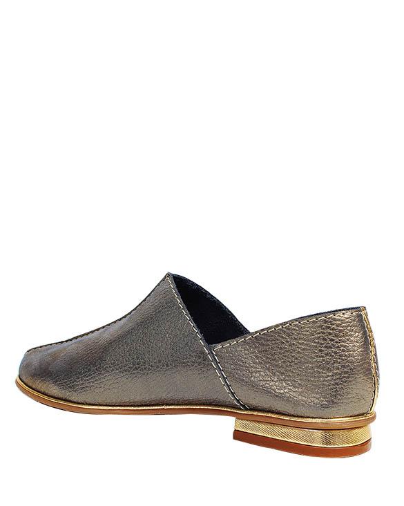 Zapato Flat FR-9351 Color Oro