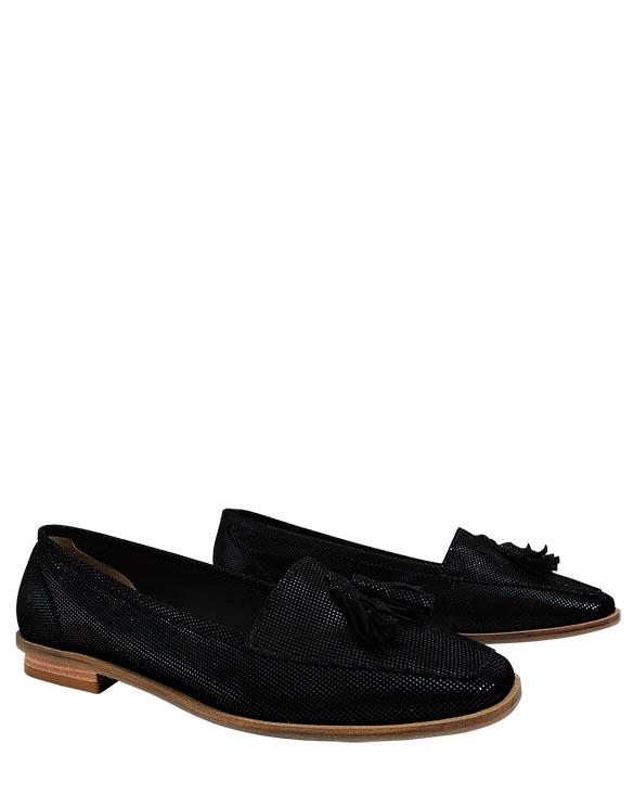 Zapato Flats FM-9432 Color Negro