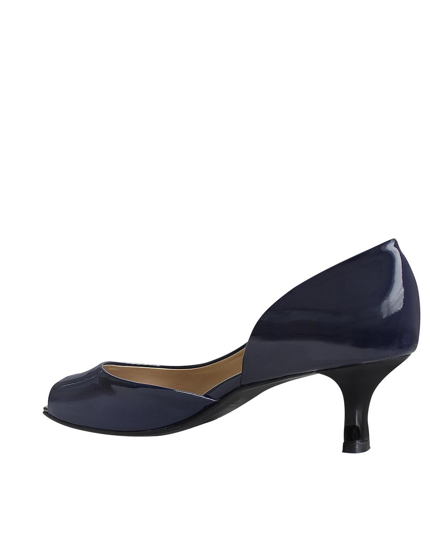 Zapato Peep Toe FRP-9345 Color Azul