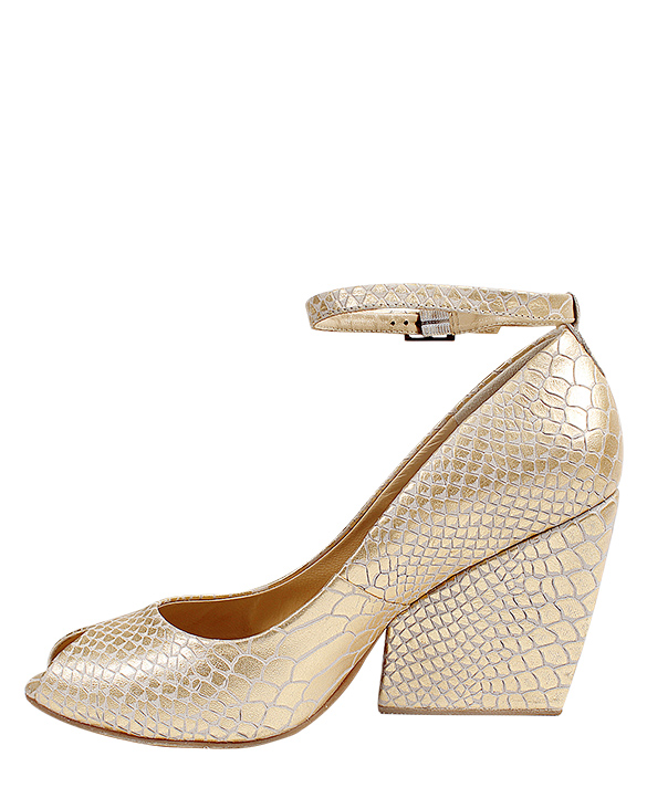 Zapato Peep Toe FRP- 9665 Color Blanco