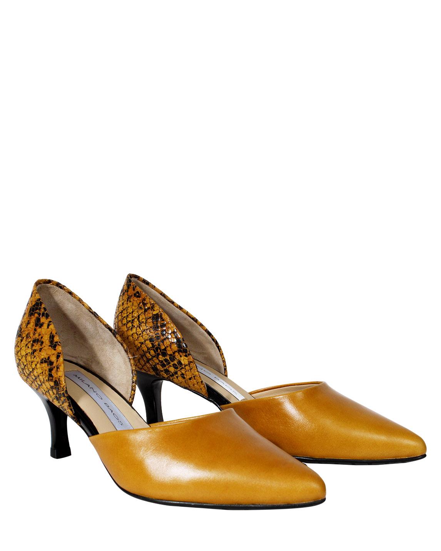 Zapato Pump FPT-8653 Color Amarillo