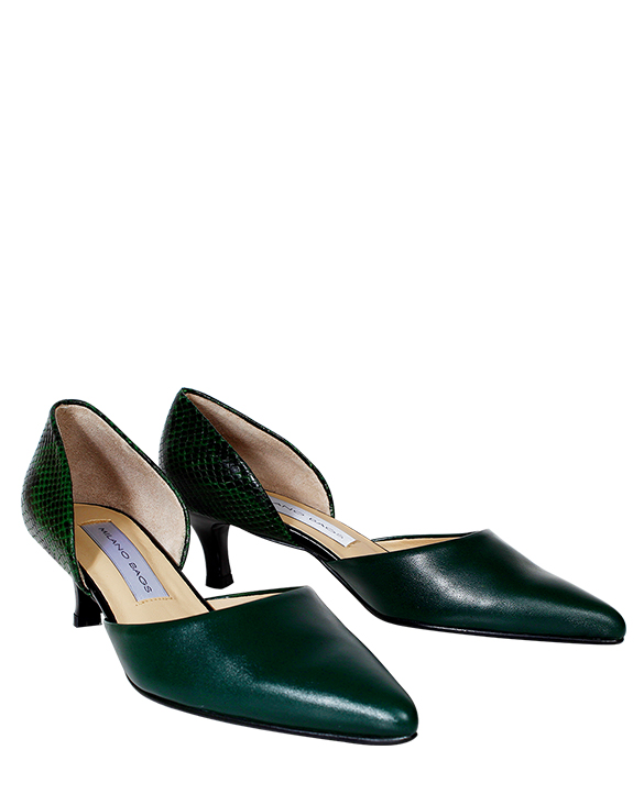 Zapato Pump FPT-8653 Color Verde
