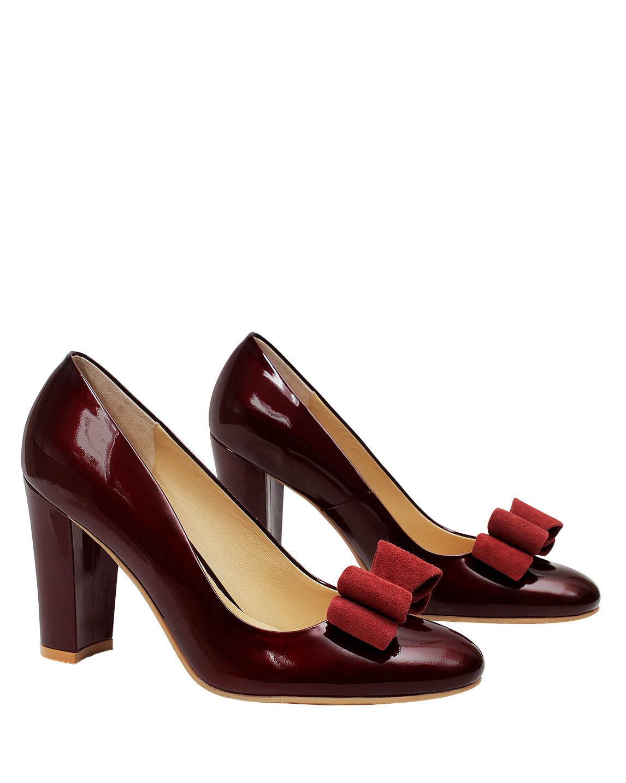 Zapato Pump FR-9178 Color Rojo