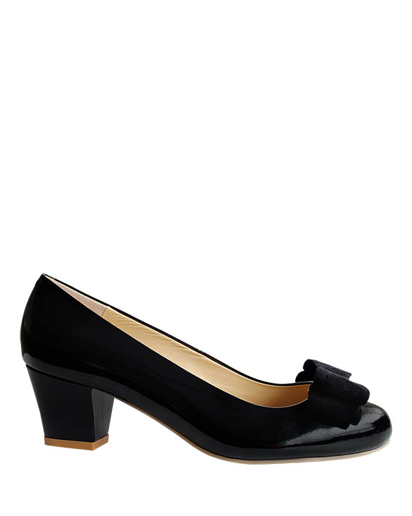 Zapato Pump FR-9179 Color Negro