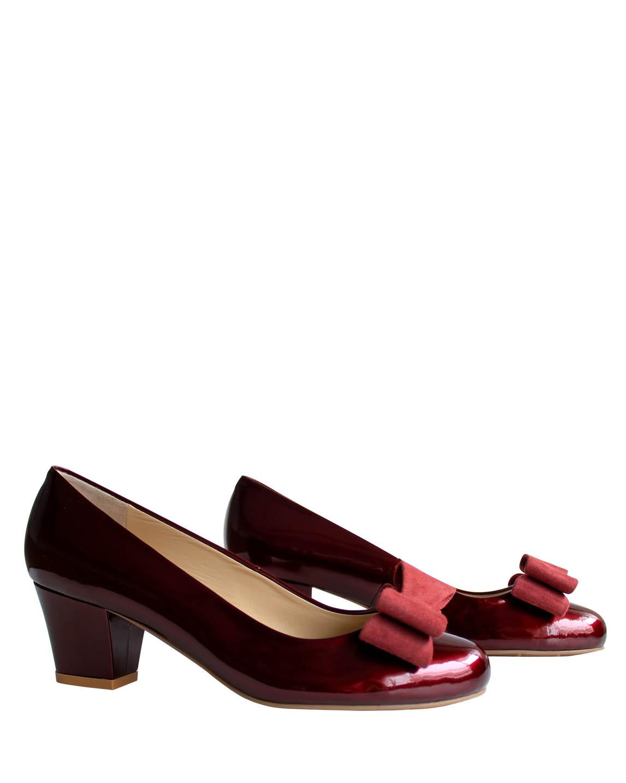 Zapato Pump FR-9179 Color Rojo