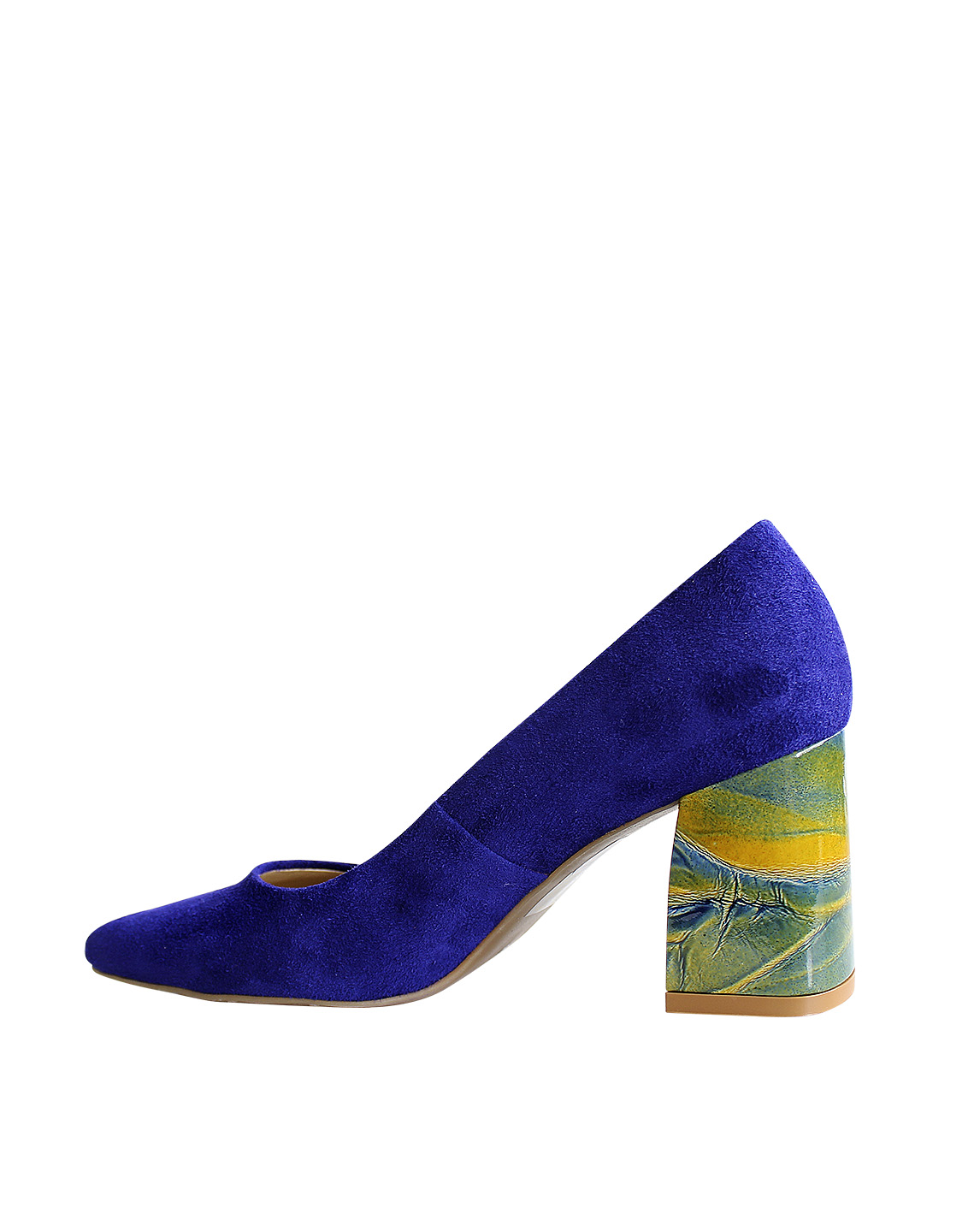 Zapato Pump FR-9225 Color Azul