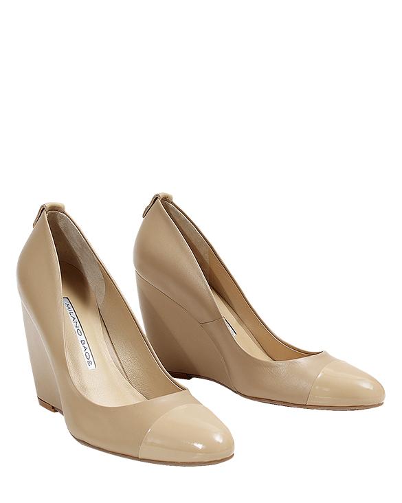 Zapato Pump FR-9261 Color Beige