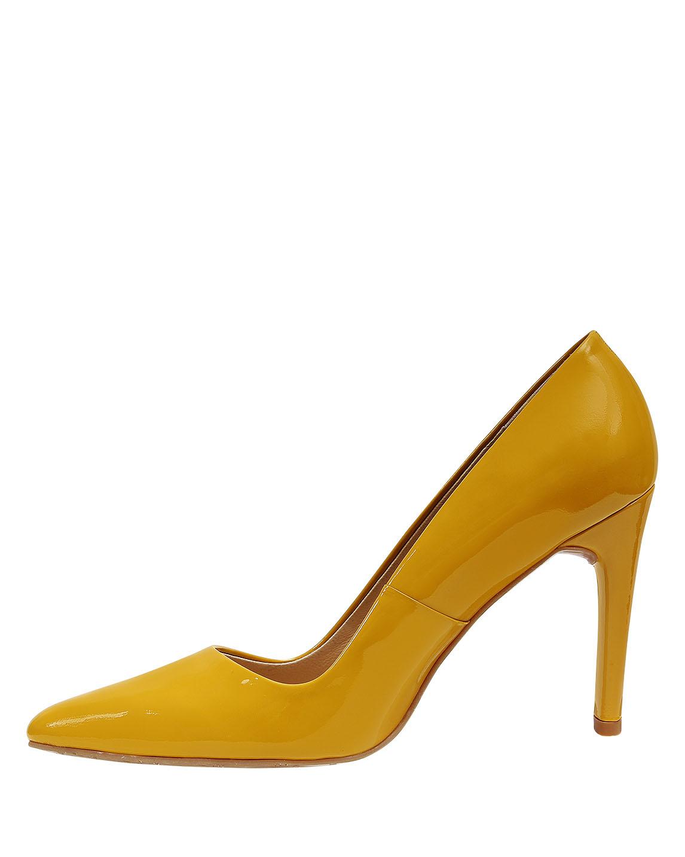 Zapato Pump FR-9416 Color Amarillo