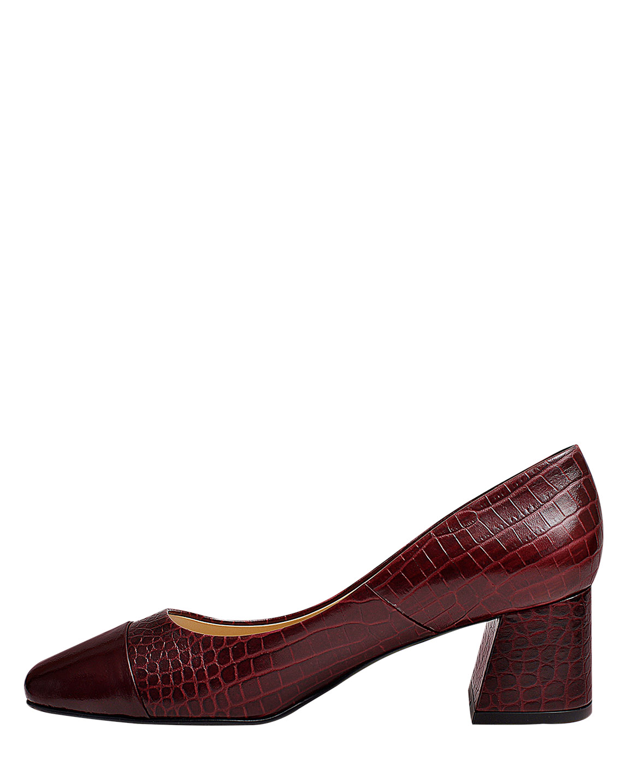Zapato Pump FR-9520 Color Rojo