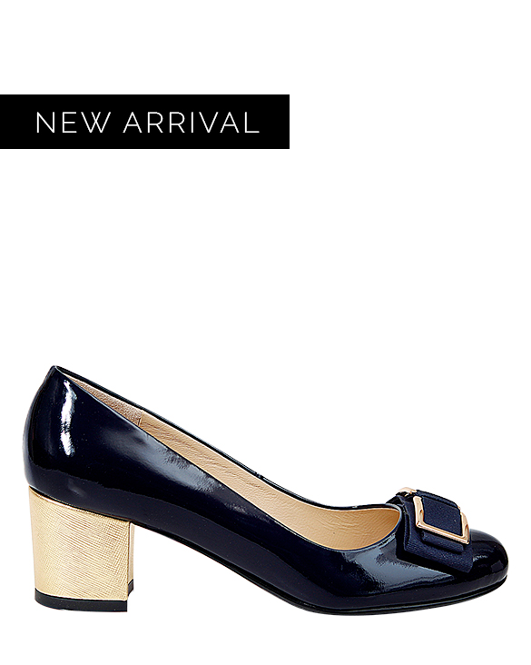 Zapato Pump FR-9630 Color Azul