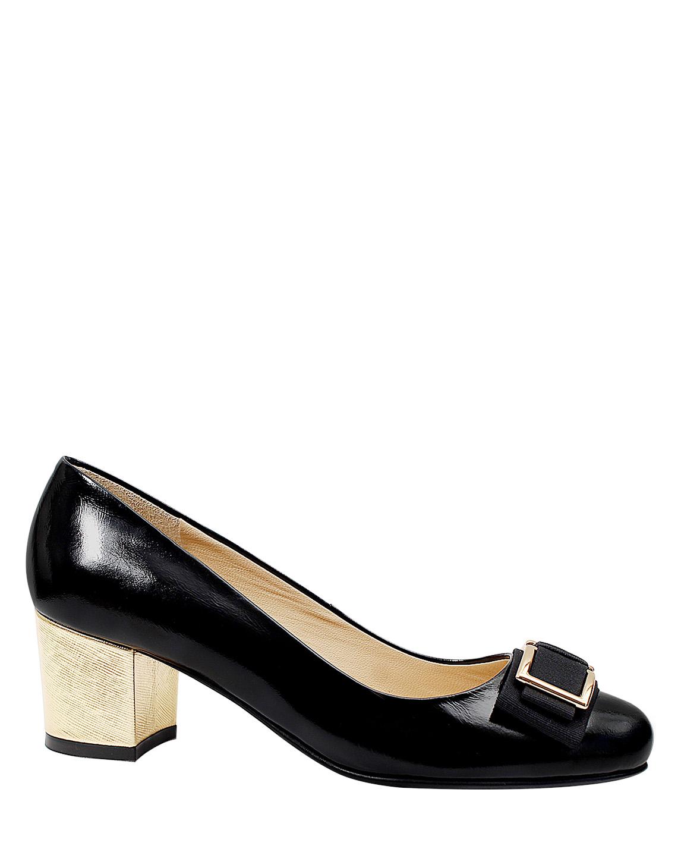 Zapato Pump FR-9630 Color Negro