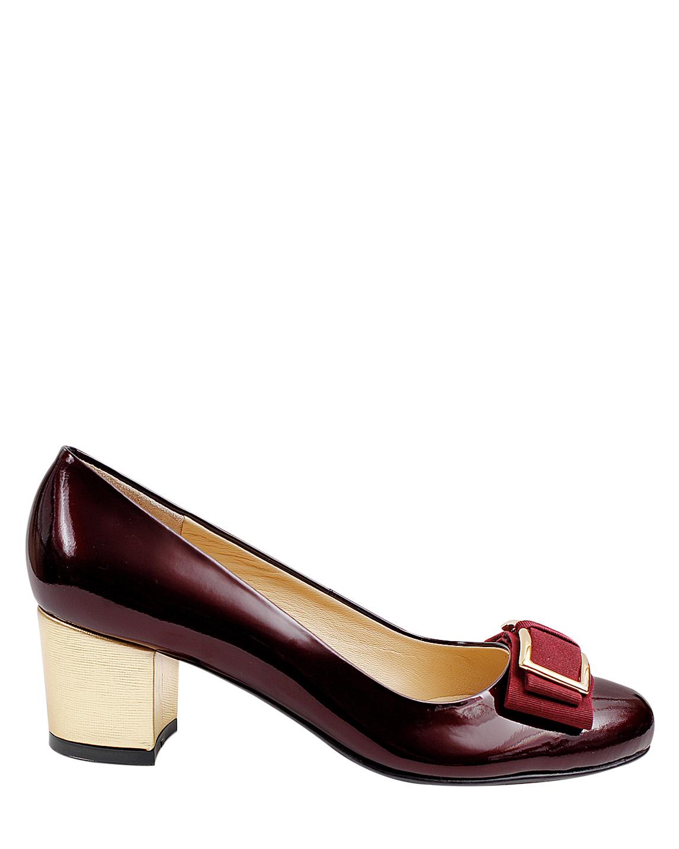 Zapato Pump FR-9630 Color Rojo