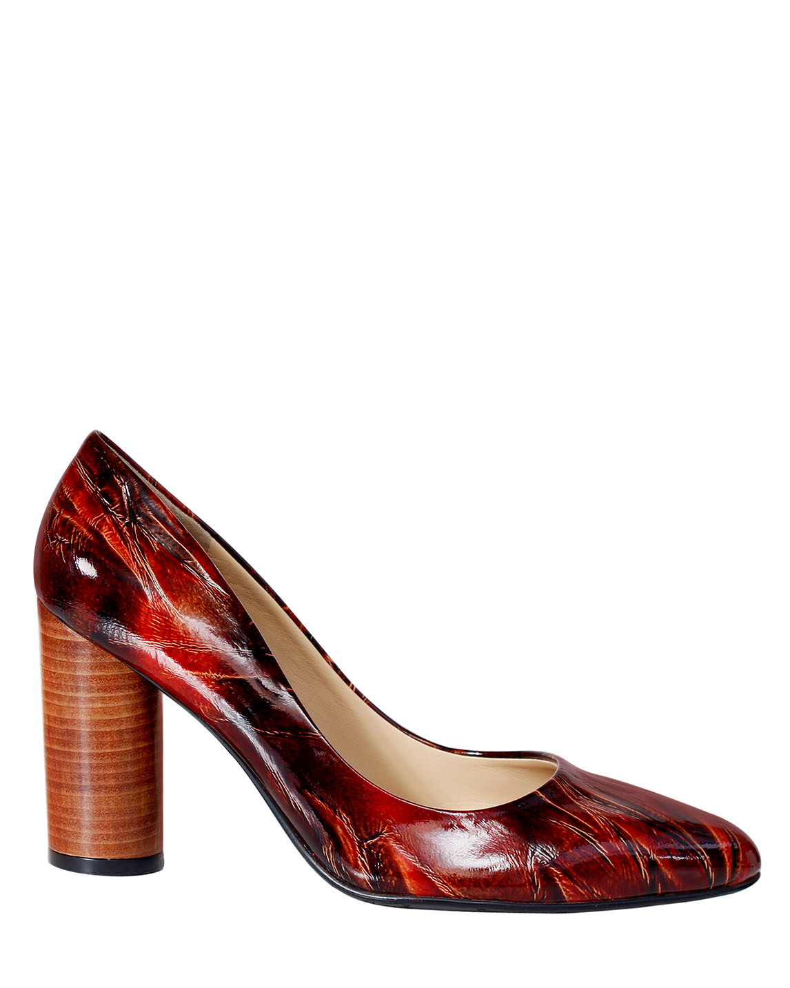 Zapato Pump FR-9641 Color Marrón