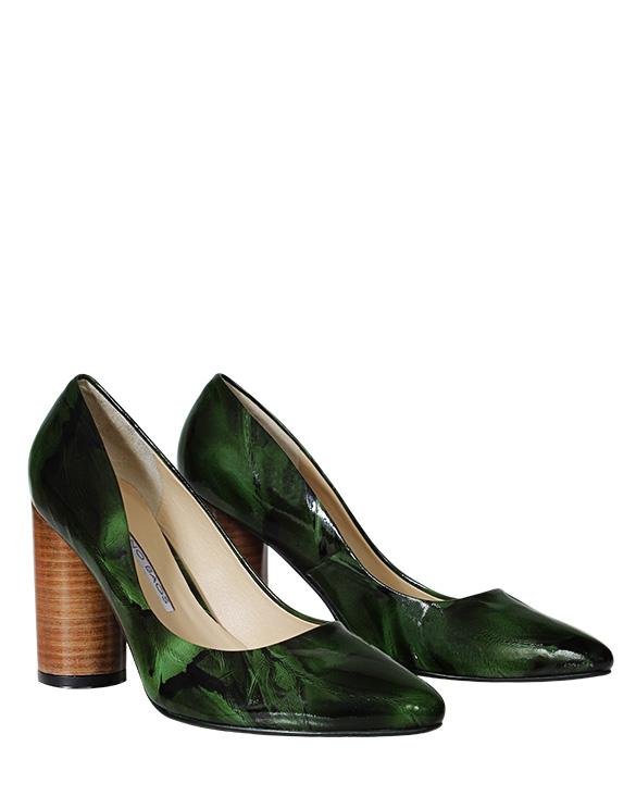 Zapato Pump FR-9641 Color Verde