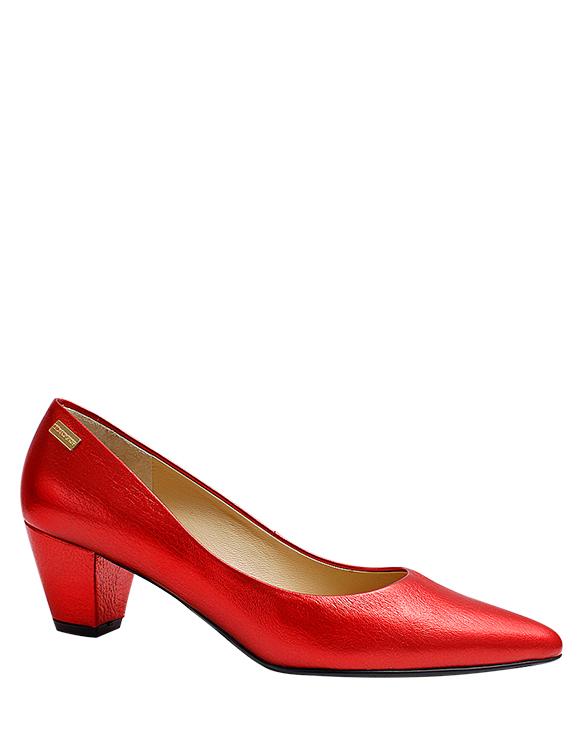 Zapato Pump FR-9752 Color Rojo