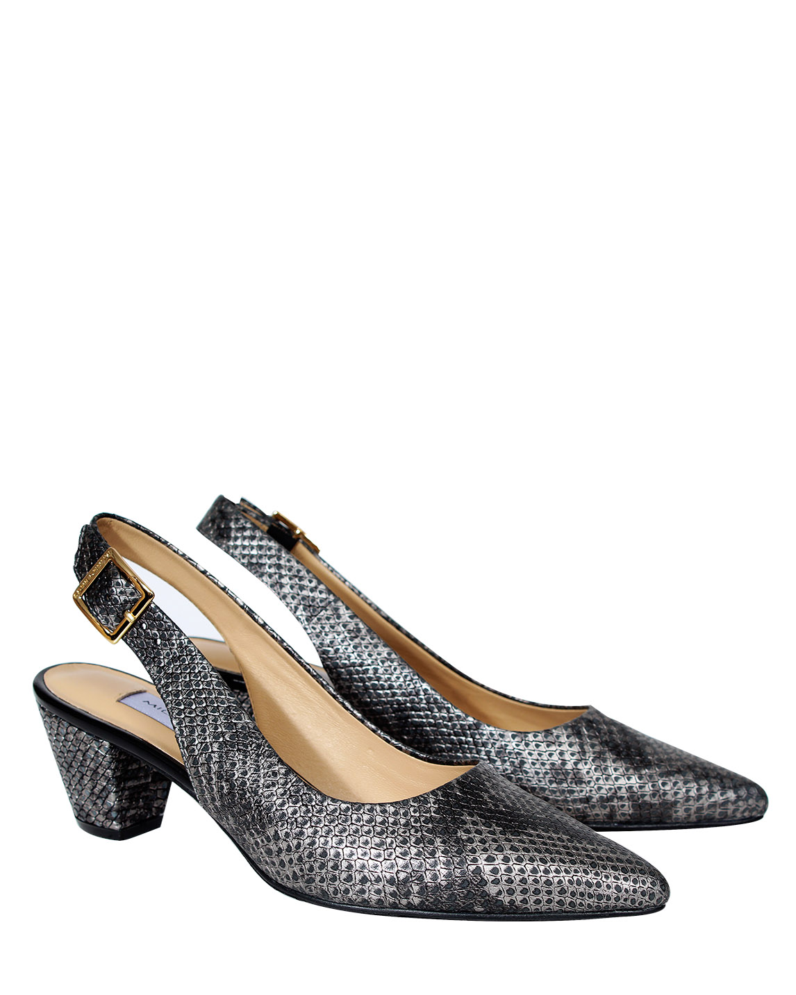 Zapato Pump FRT-9283 Color Plata