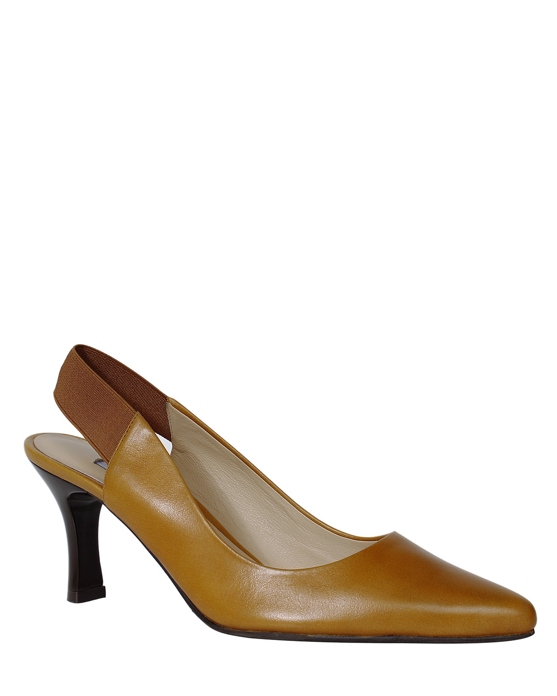 Zapato Pump FRT-9295 Color Amarillo