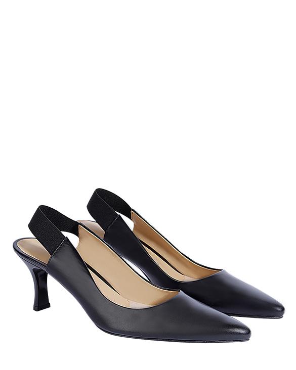 Zapato Pump FRT-9295 Color Negro