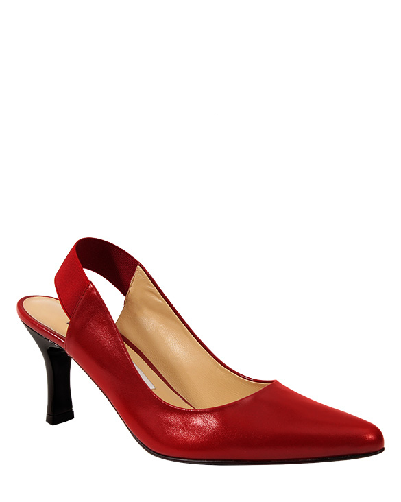 Zapato Pump FRT-9295 Color Rojo