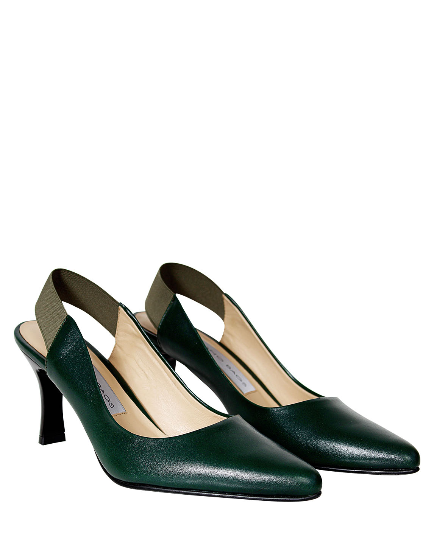 Zapato Pump FRT-9295 Color Verde