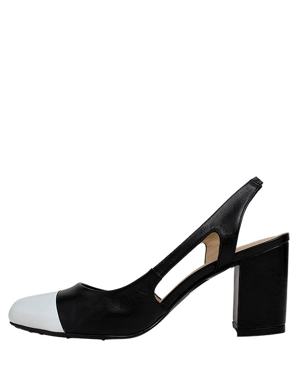 Zapato Pump FRT-9471 Color Negro