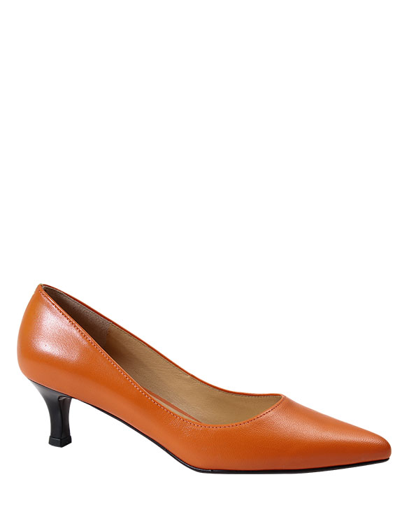 Zapato Pumps FR-8596 Color Naranja