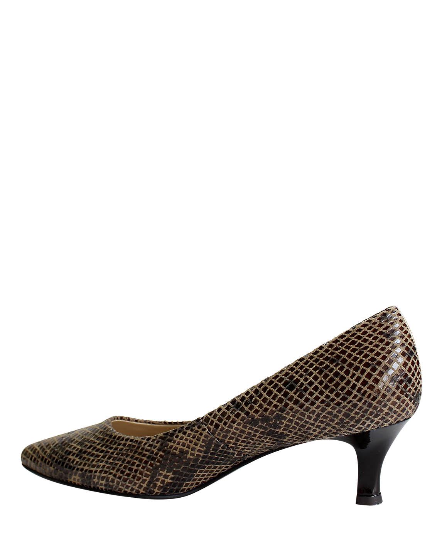 Zapato Pumps FR-9369 Color Marrón