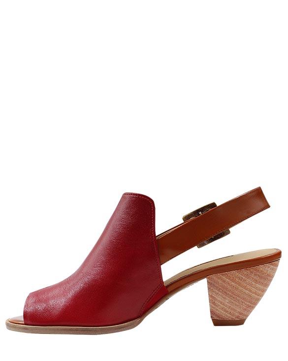 Zapato Sandalia FS-8851 Color Rojo