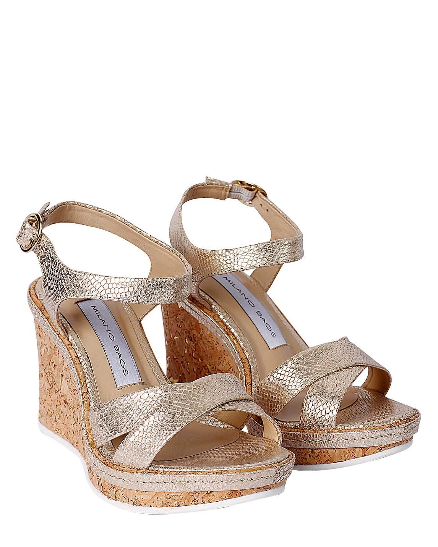 Zapato Sandalia FS-9056 Color Oro