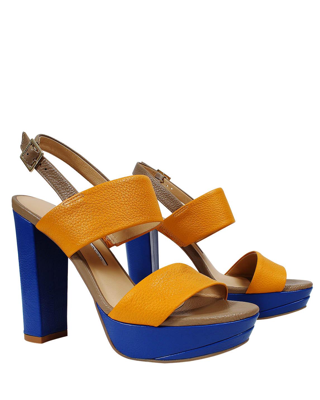 Zapato Sandalia FS-9188 Color Amarillo