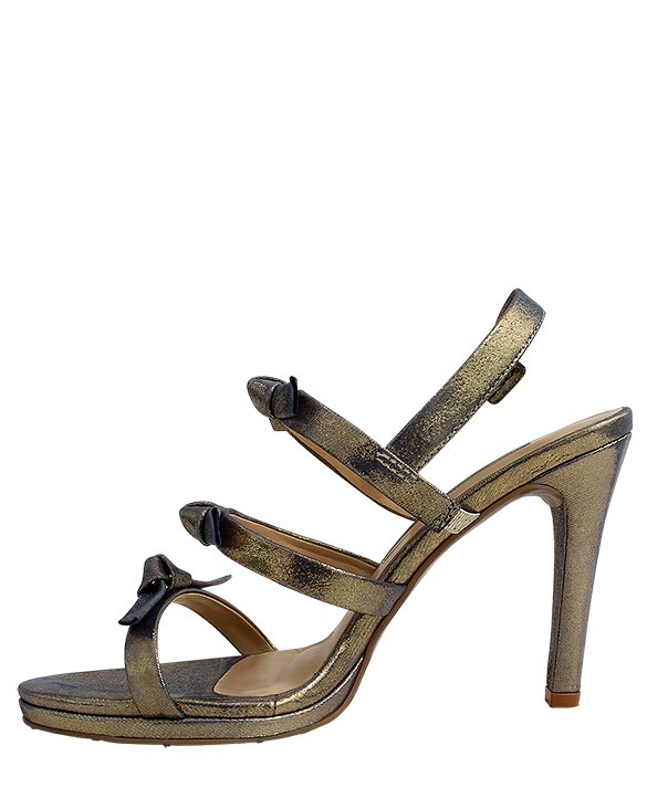 Zapato Sandalia FS-9402 Color Oro