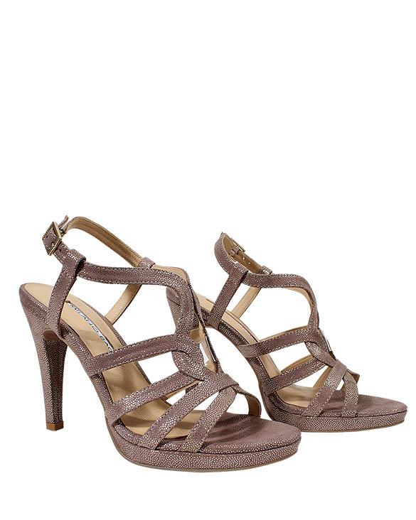 Zapato Sandalia FS-9412 Color Plata