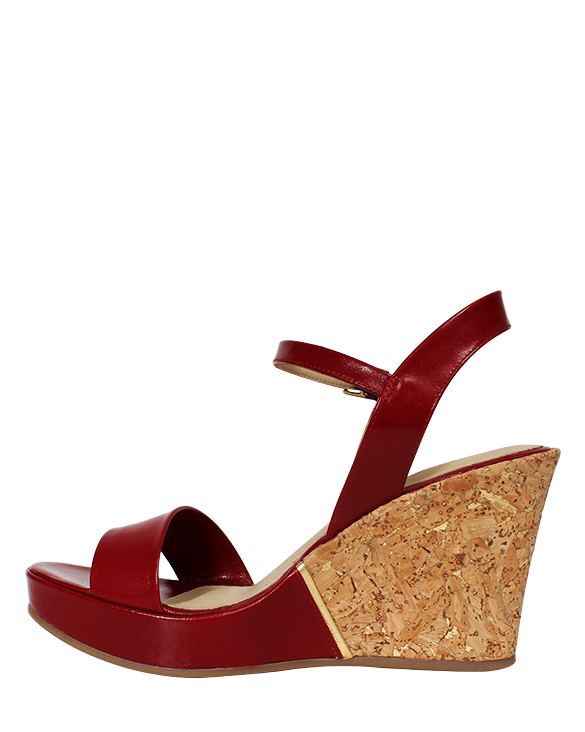 Zapato Sandalia FS-9444 Color Rojo