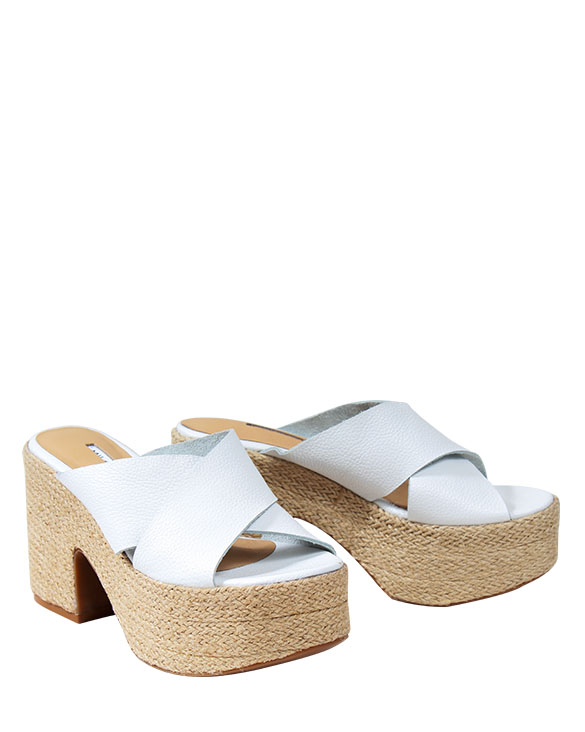 Zapato Sandalia FS-9450 Color Blanco