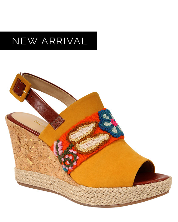 Zapato Sandalia FS-9570 Color Amarillo