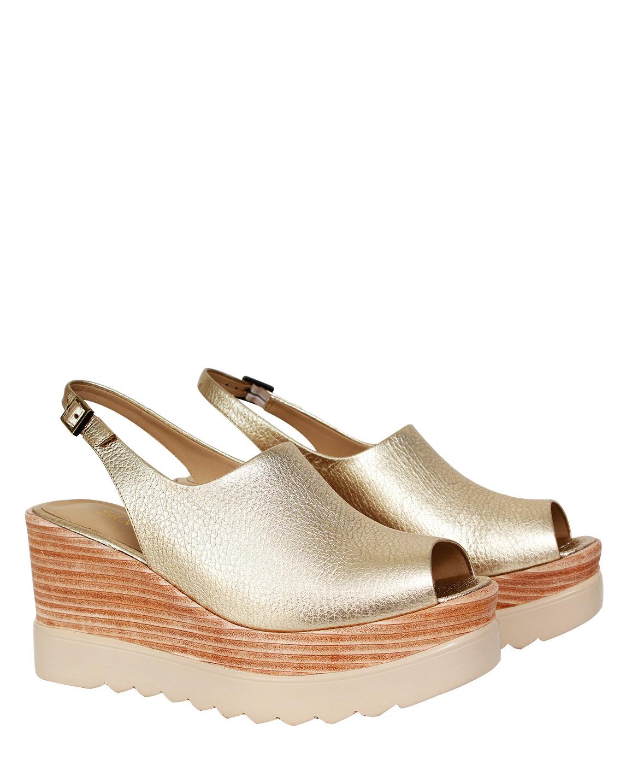 Zapato Sandalia FS-9685 Color Oro
