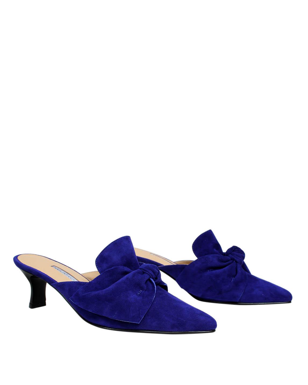 Zapato Zueco FZ-9337 Color Azul