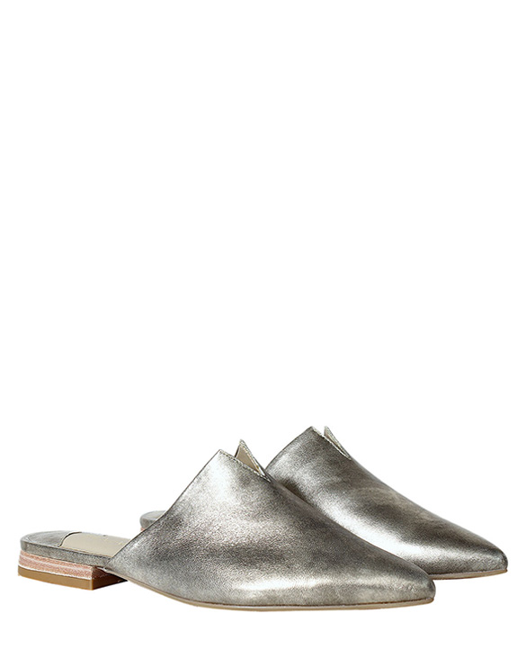 Zapato Zueco FZ-9500 Color Aluminio